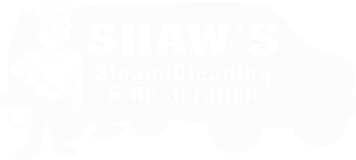 Shaw's Carpet Cleaning Logo [white]